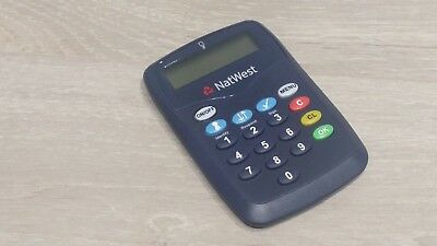 natwest online banking card reader security device hardly used