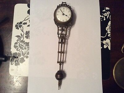 Swinging Clock Pendulum, Spares or Repairs