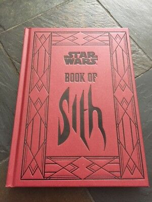 Star Wars: Book Of Sith Hardcover Book BN!