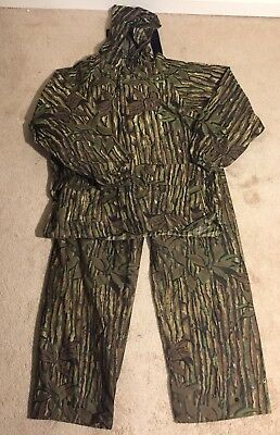 kool dri realtree camo rain gear suit jacket and bibs men s size xl