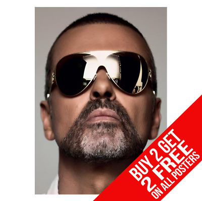 A3 SIZE GEORGE MICHAEL POSTER EE1 PRINT A4 BUY 2 GET ANY 2 FREE!