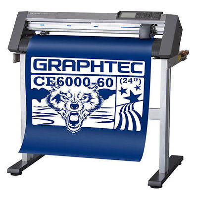 "Graphtec CE6000-60 24"" Vinyl Cutter Plotter with Stand"