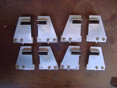 8 Robelan Displays Metal Shelf Brackets (4 pair)