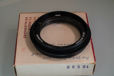LEICA 16598 46mmx0.75 thread front plate for Leica bellow II system