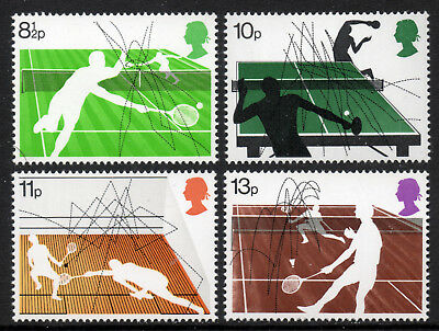 GB Stamps 1977 Racket Sports Set of 4.SG 1022-1025. MNHSell