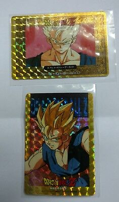 Dragonball Z Rare Gold Foil Promo Early Made In Japan Goku