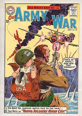 Our Army At War #132 (VF/NM) (1964, DC) HIGH GRADE Kubert Sgt. Rock!