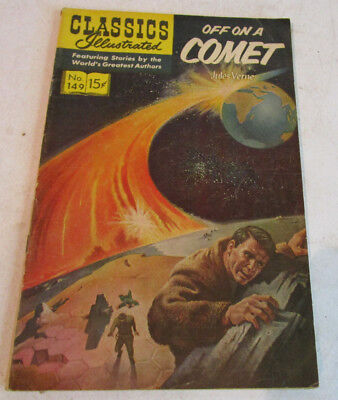 Classics Illustrated Off On A Comet Jules Verne #149