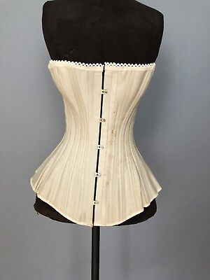 Antique Victorian Corset.  Deadstock With Box