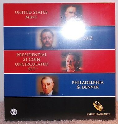 2013 Presidential $1 Coin Uncirculated Set - In Original Packaging