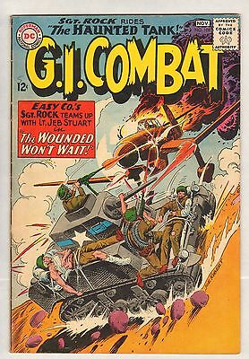 GI Combat #108 (FN/VF) (1964, DC) First Sgt. Rock Crossover -- Rides The Haunted