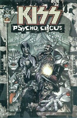KISS Psycho Circus #1 By Medina 4th Print Variant D Spawn Gene Simmons NM/M 1997