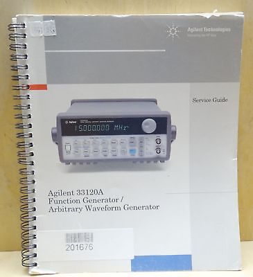 Agilent 33120A Function Generator / Arbitrary Waveform Generator Service Guide