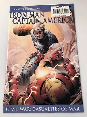 Iron Man Captain America Civil War (Casualties Of War) 9.4 Comic