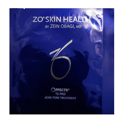 ZO Skin Health By Obagi OFFECTS Te-Pad Acne Pore Complexion Renewal 20 PADS