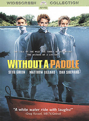 Without A Paddle (DVD, 2005, FULL SCREEN Collection), like new!!