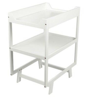 Baby Change Table 2 Tier WHITE - New Still In Box
