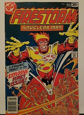 Firestorm The Nuclear Man #1 FN/VF 1st App & Origin 1978 DC Comics