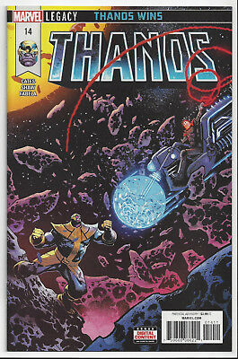 Thanos #14 (2017) 1St Full Cosmic Ghost Rider ~ Nm/mint 9.8 : Send This To Cgc!