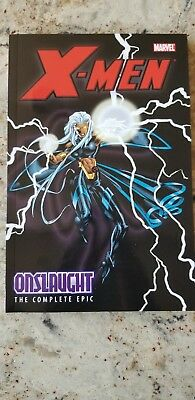 X-Men Onslaught The Complete Epic vol 3 Trade paperback tpb graphic novel