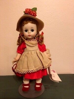 Vintage Madame Alexander Kins Doll Pinafore Dress Wendy Kins Hangtag Beautiful