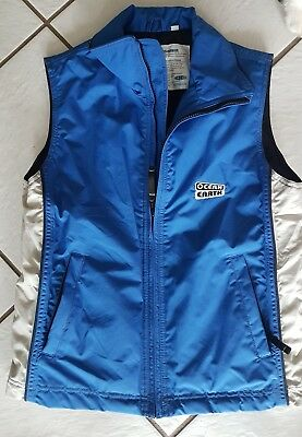 New Ocean Earth blue snow wear vest size xxs but more like a ladies small.