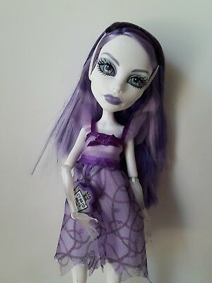 Monster High Dolls Spectra Dead tired Excellent used condition