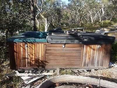 swimspa pre drilled never used shell $1=free