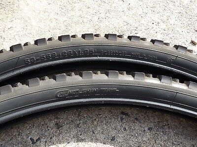 """2 X CST BICYCLE MOUNTAIN BIKE ROAD/TRAIL TYRES; 26 x 1.95"""""""