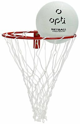 Opti Netball Ring & Ball Set