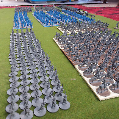 15Mm Old Glory, Tabletop Wargaming, Large Napoleonic French Force, Based
