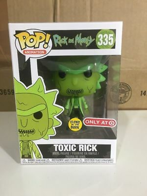 Funko Pop Rick and Morty Toxic Rick Target Exclusive brand new