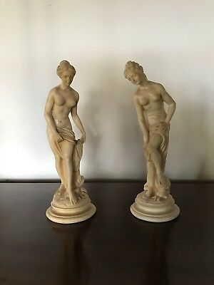 Pair of Goddess Statues | Sculpture Figurine