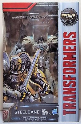 Transformers Steelbane Deluxe Class The Last Knight Premier Edition