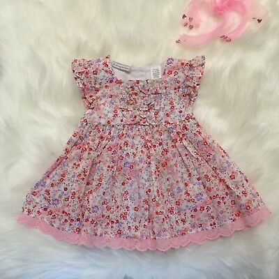 42aaa21b9617 FIRST IMPRESSIONS BABY Girls Dress size 6-9 months