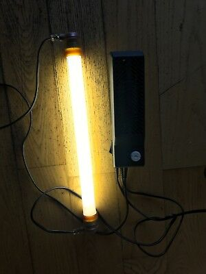 15W Reptile UV Lamp including power supply and tube