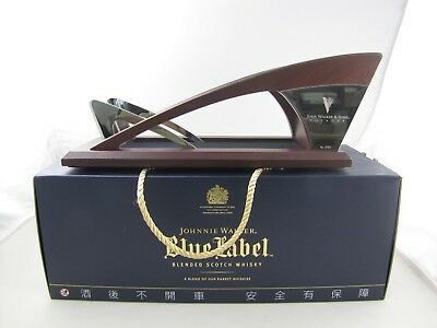 Johnnie Walker Whisky Blue Label Voyager Stand New With Box