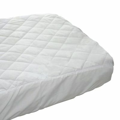 NEW Bubba Blue Everyday Basic Waterproof Quilted Cot Mattress Protector