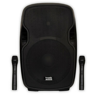 15 Inch Speaker with USB/SD/MP3/Bluetooth and 2 Mics