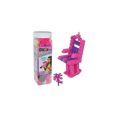 Snapo Construction 151 Pieces Pink