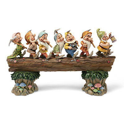 Disney Traditions by Jim Shore Snow White and the Seven Dwarfs Heigh-ho Stone