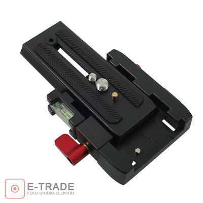 PRO Tripod Quick Release Plate for Manfrotto 501PL 500AH 701HDV 503HDV MN577