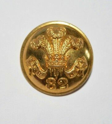 82nd Regiment of Foot (Prince of Wales's Volunteers) Large gilt Officer Button