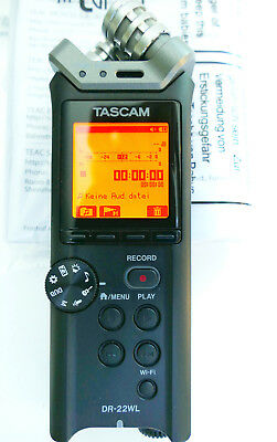 TASCAM DR-22WL WiFi prof. dig. Audio Recorder
