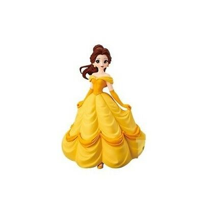 Disney Belle figure beauty and the beast Characters Crystalux Belle Japan NEW