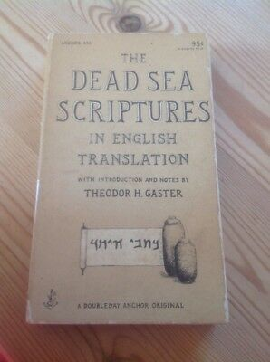 The Dead Sea Scriptures, In English Translation