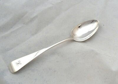 SCARCE PROVINCIAL SILVER DESSERT SPOON YORK Barber & Whitwell 1819