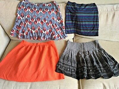 4 Mini Summer Skirts Bundle To Fit Size 8-10, Next, Redoute, New Look