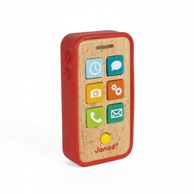 Toys & Games Janod Sound Camera With Sounds and Lights Gift Box Presentation 1.5 to 3 years