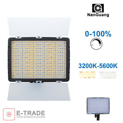 LED lamp LK600 with dimmer : 0-100% power / smooth control / 3200K -> 5500K